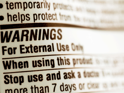 Invokana FDA Warning Label