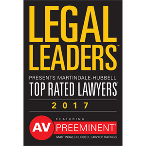 Legal Leaders Top Rated Lawyers 2017